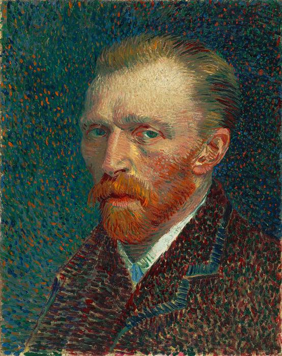 Van Gogh famous people with schizophrenia