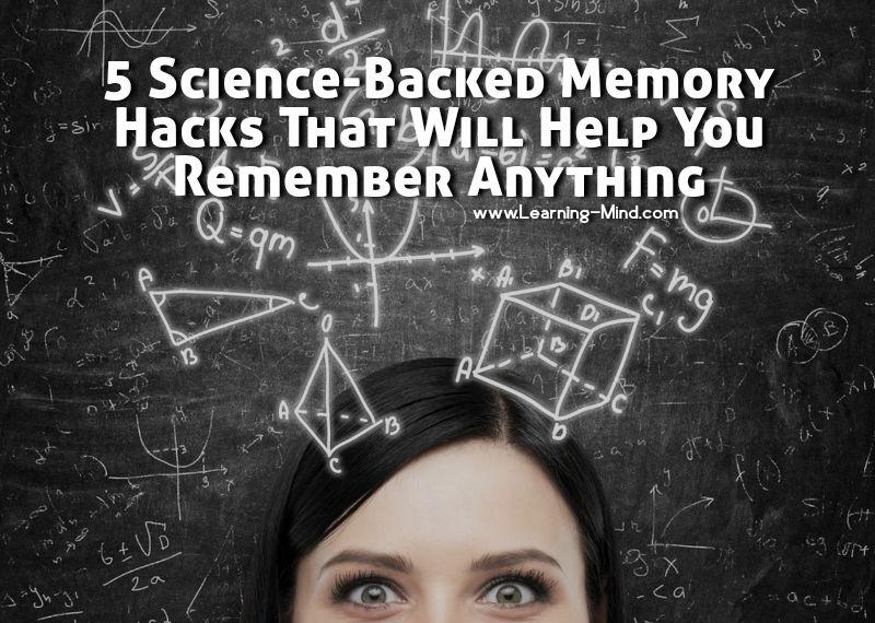 science backed memory hacks