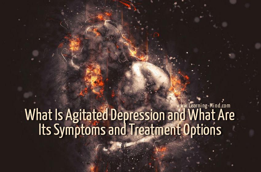 agitated depression
