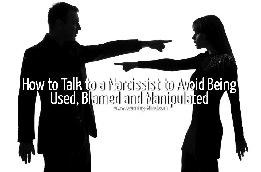 Things narcissists do when talking to you