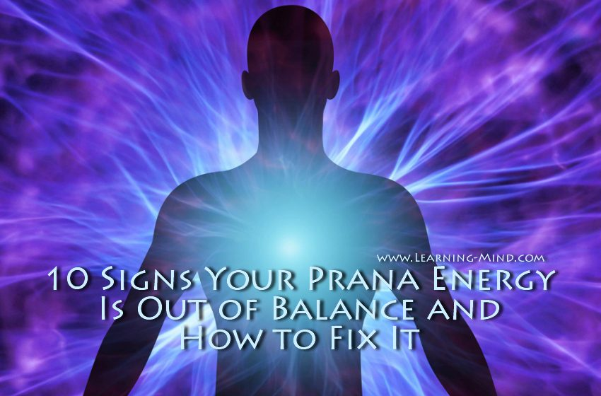prana energy imbalance signs