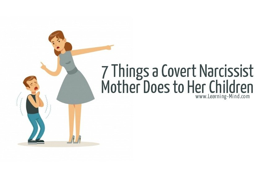 covert narcissist mother signs