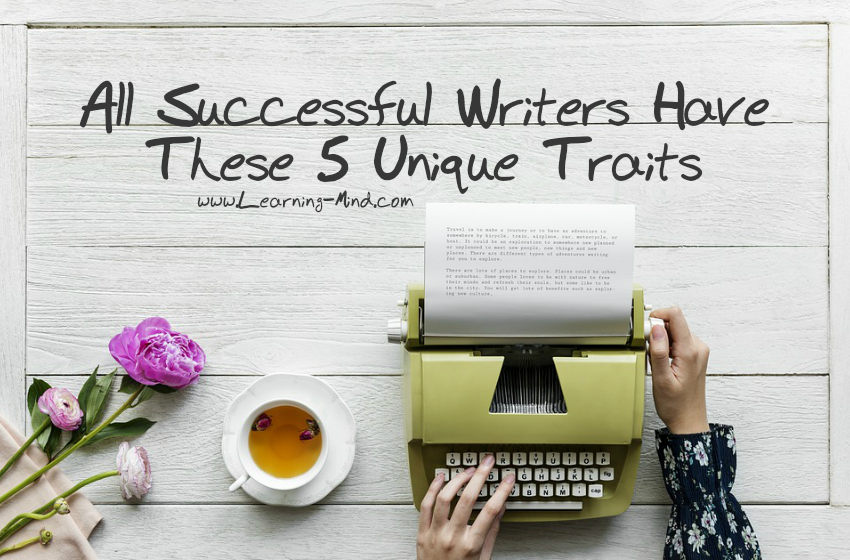successful writers traits