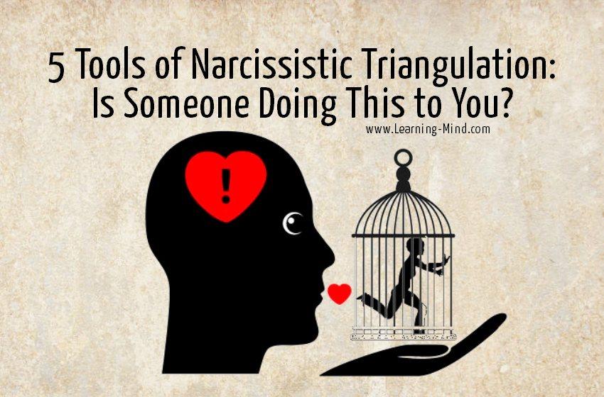narcissistic triangulation signs