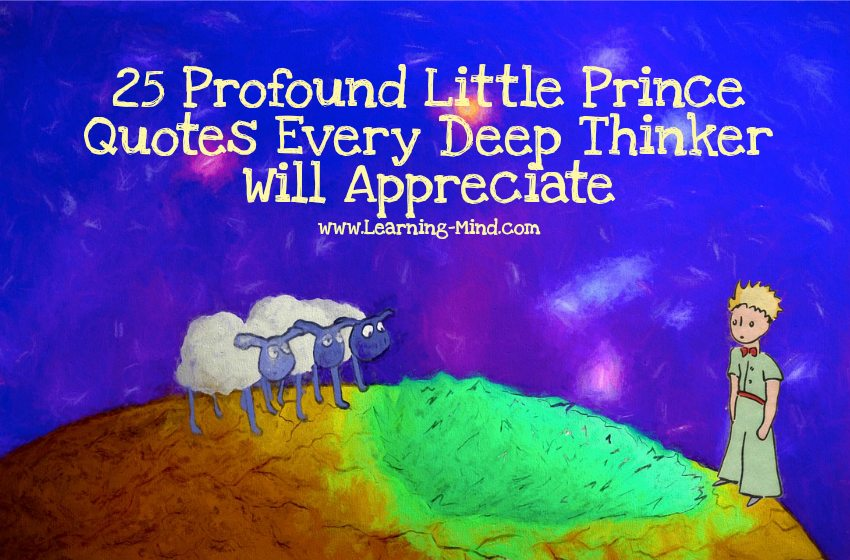 25 Profound Little Prince Quotes Every Deep Thinker Will ...
