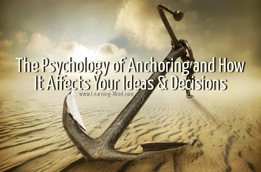 psychology of anchoring
