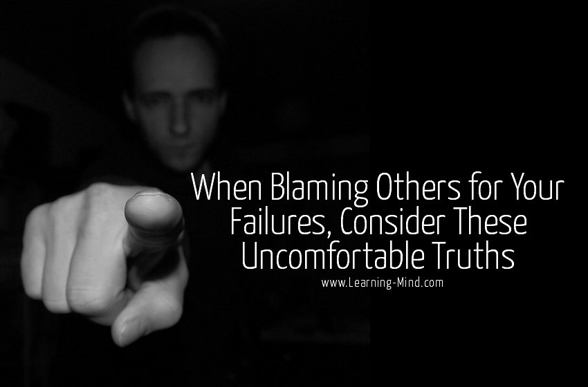 blaming others truths