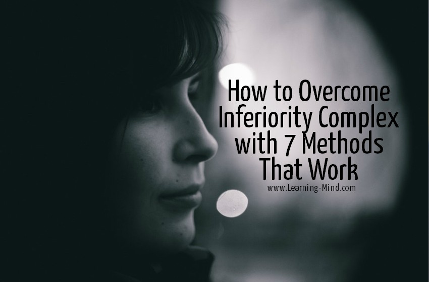 how to overcome inferiority complex