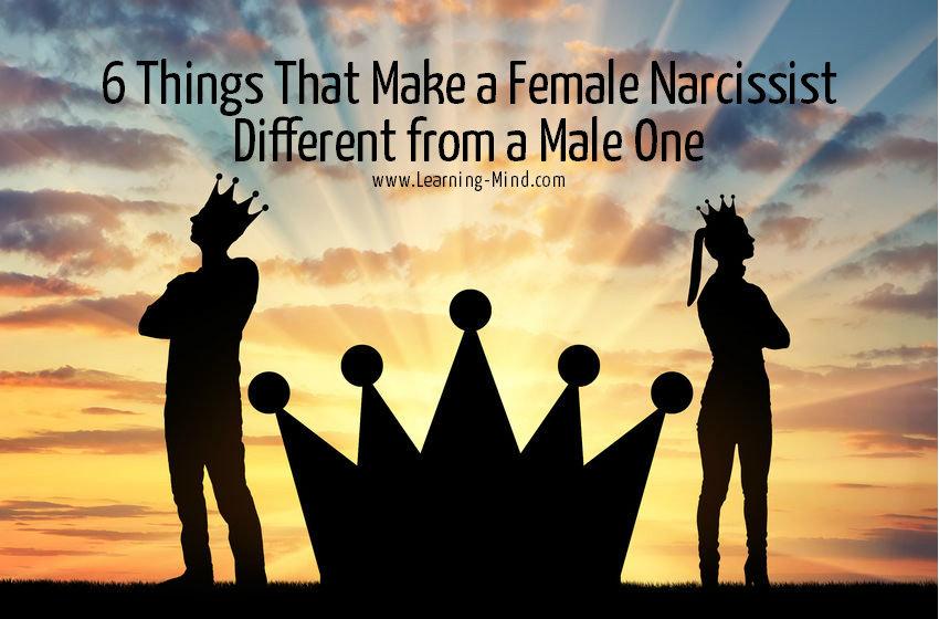 female narcissist vs male narcissist