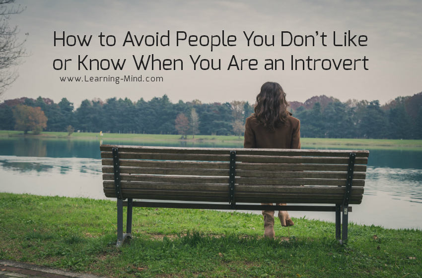 how to avoid people introvert