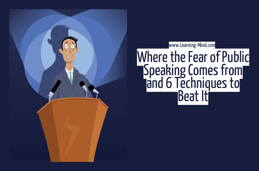 fear of public speaking techniques