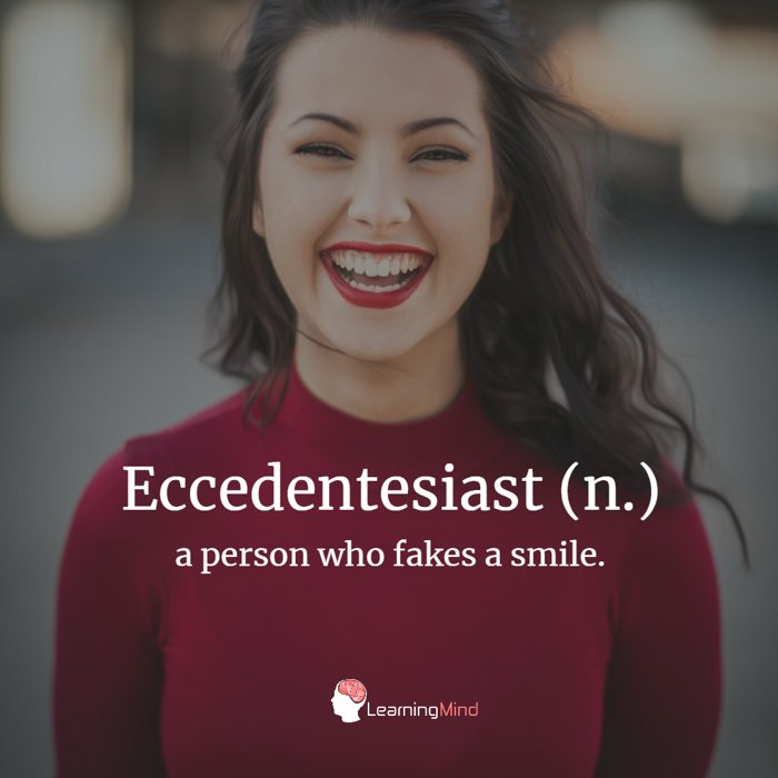 Eccedentesiast definition