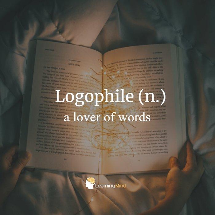 logophile definition
