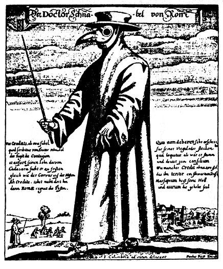 bubonic plague doctors