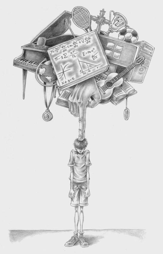 Eye-Opening Illustrations child