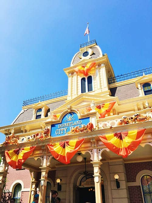 Disneyland Halloween Time City Hall