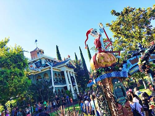 Disneyland Halloween Time Haunted Mansion Holiday JackOLantern