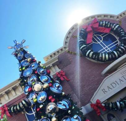 Radiator Springs Holiday Disneyland