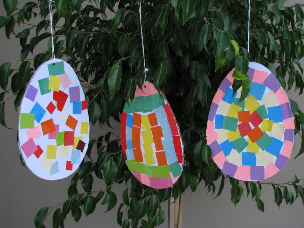 Colourful Pattern Easter Eggs