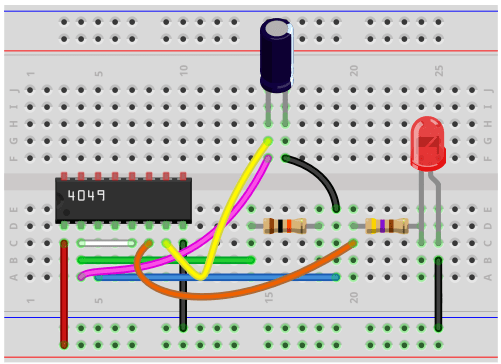 How To Build An Astable Multivibrator Circuit With A