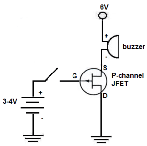 How to Build a PChannel JFET Switch Circuit