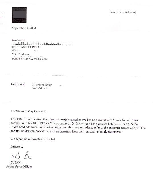 balance confirmation letter business letters sample letter