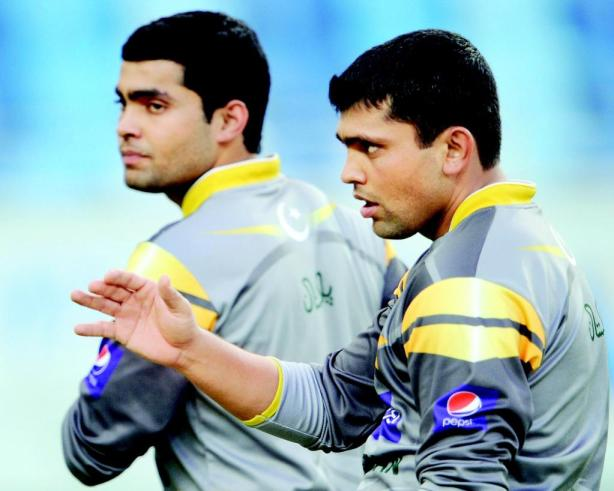 Umar Akmal and Kamran Akmal