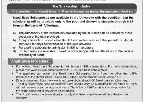 Scholarships-for-Islamabad-students