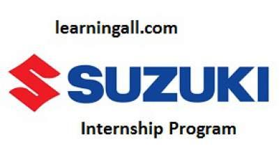 Pak Suzuki Summer Internship