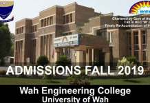 Wah-Engineering-University