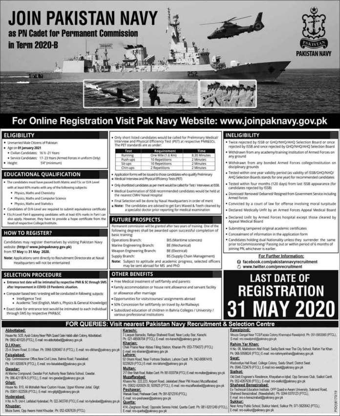 PN-Cadet-Jobs-in-Pak-Navy-2020
