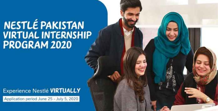 Nestle-Pakistan-Virtual-Internship-Program-2020