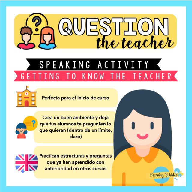 question the teacher meet the teacher