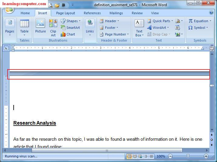 word 15.30 how to add section break