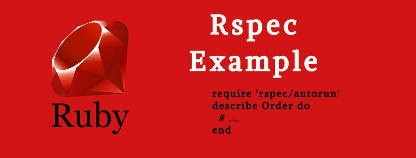 RSpec Example