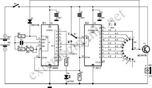 Egg Timer Circuit Diagram