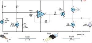 Junkbox Fan Speed Controller Circuit Diagram