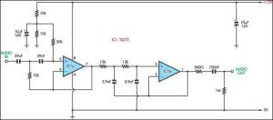 Voice Bandwidth Filter Circuit Diagram