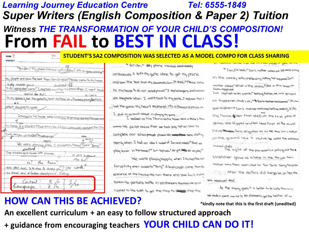 Super Writers Creative Writing Amp English Tuition