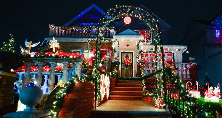 Amazing Christmas Lights Show Videos Learning Liftoff