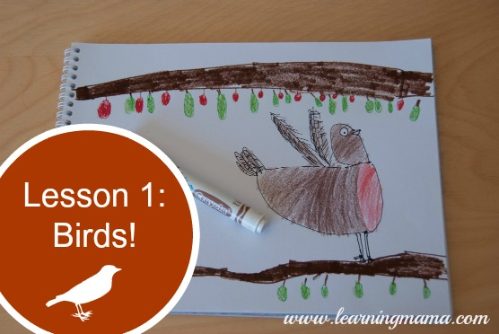 Drawing with (My) Children: Lesson 1