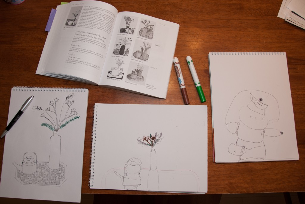Drawing With (My) Children Lesson 3: Still Life - www.learningmama.com