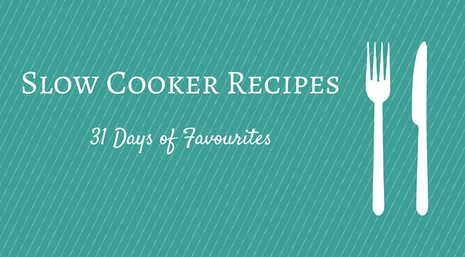 What's Cooking? Top 5 Favourite Slow Cooker Recipes