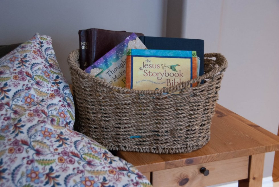 Reading aloud in our homeschool - Morning Time Basket