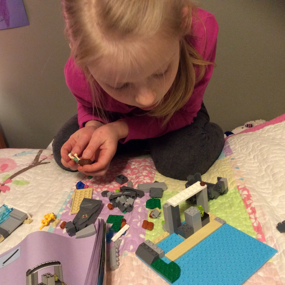 A Day in the Life of this Learning Mama - LEGO with my girl!