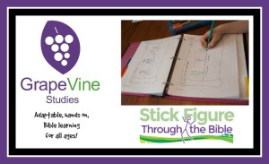 Grapevine Studies Review - an adaptable, hands-on, Bible curriculum for all ages!