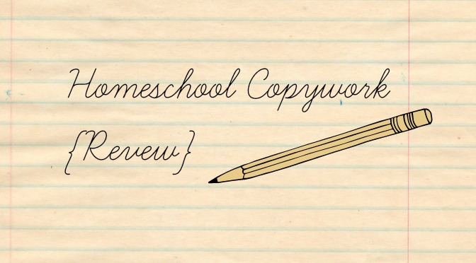 Homeschool Copywork {Review}