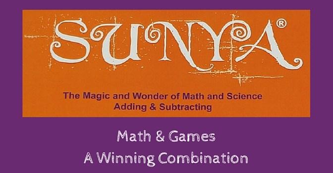 Math & Games - A Winning Combination {Sunya Review}