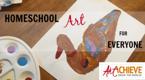 Homeschool Art for Everyone! All skill levels, no experience necessary! {ArtAchieve Review}