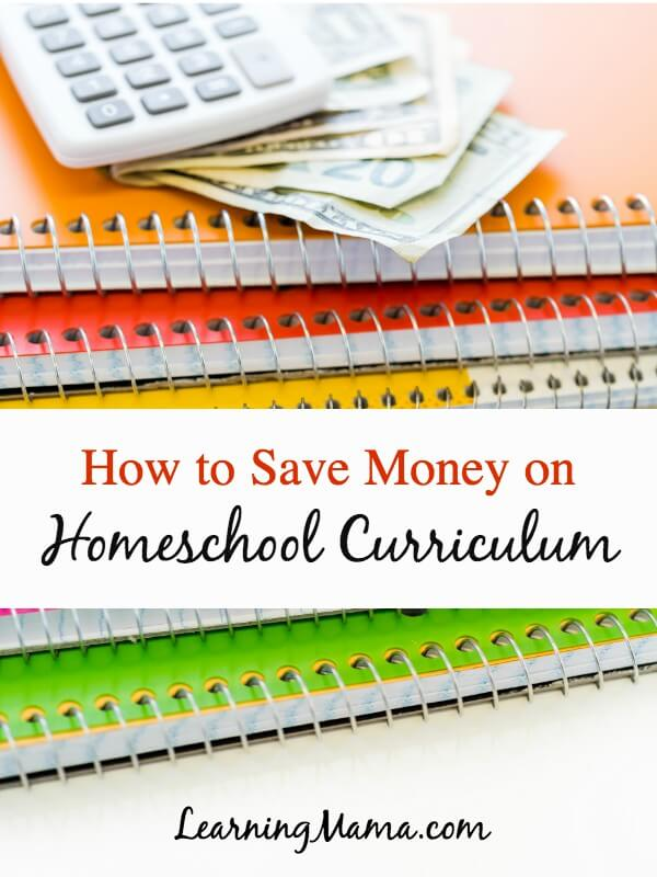 Homeschool curriculum can be pricey -- but there are some strategies you can use to tame your homeschool budget and save money on homeschool curriculum #homeschool #homeschooling